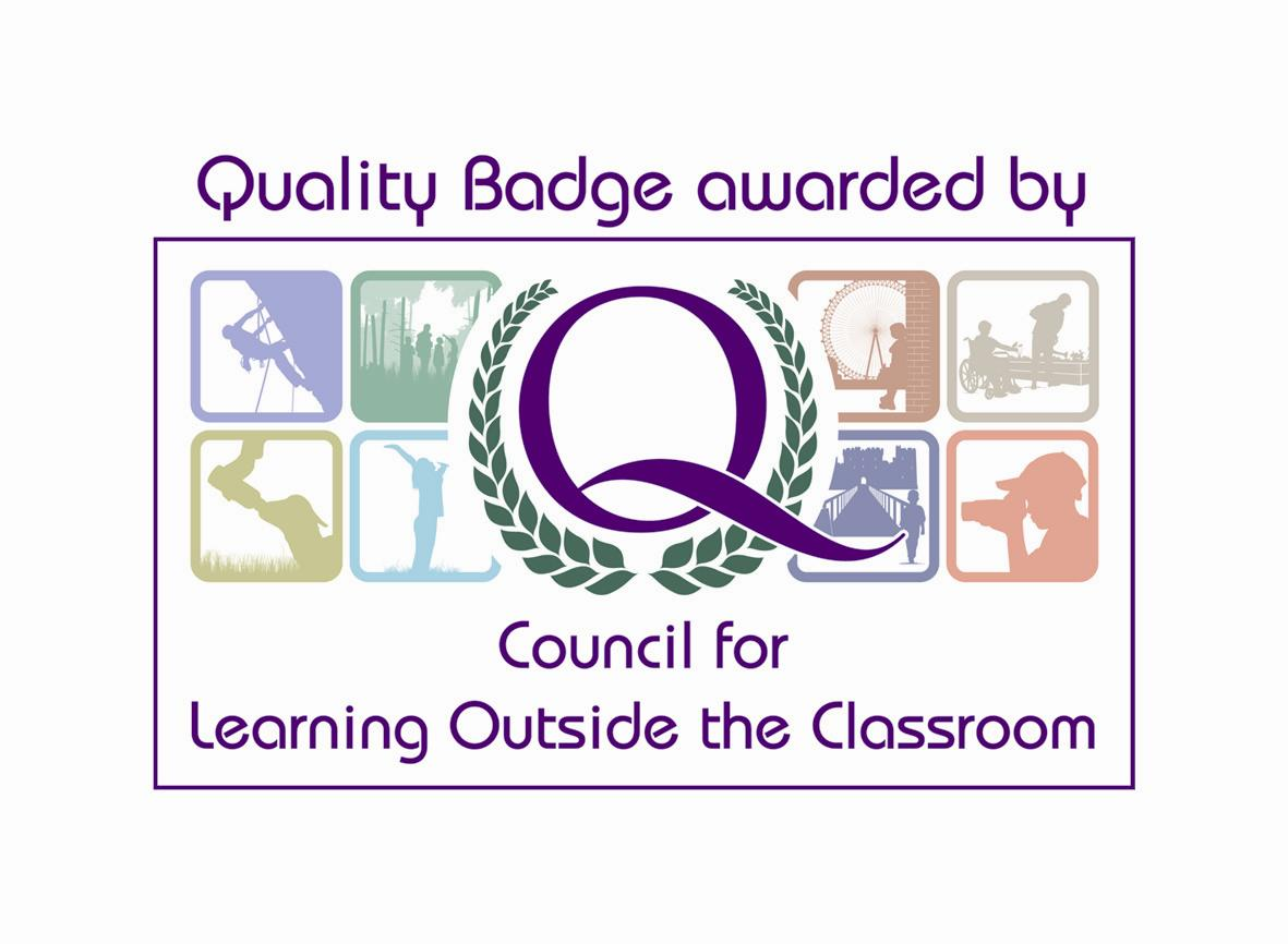 [Awarded the Learning Outside the Classroom Quality Mark]